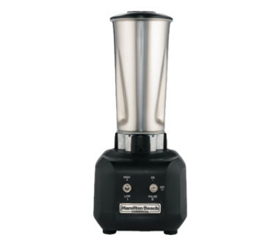 Hamilton Beach HBB250SR Bar Blender, 32-oz Stainless Container, Wave Action System