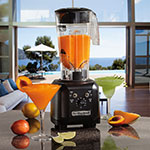 Hamilton Beach HBH450R Countertop Drink Blender w/ Polycarbonate Container