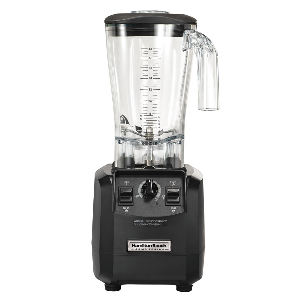 Hamilton Beach HBH550 High Performance Bar Blender w/ 64-oz Stackable Container, Auto Shut Off