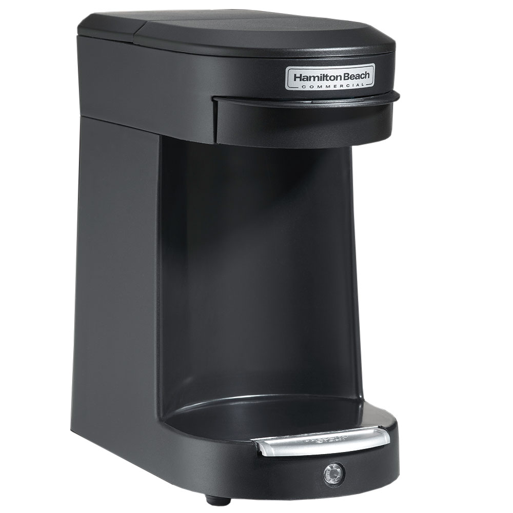 Hamilton Beach HDC200B 1-Cup Pod Coffee Maker w/ Auto Shut-Off - Black, 120v