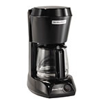Hamilton Beach HDC500C 4-cup Coffee Maker w/ Auto Shut-Off - Black, 120v