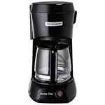 Hamilton Beach HDC500C 4-cup Coffee Maker w/ Auto Shut-Off - Black, 120v