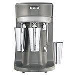 Hamilton Beach HMD400-CE Triple Spindle Drink Mixer, Cup Activator Switch, 3-Speeds, Export