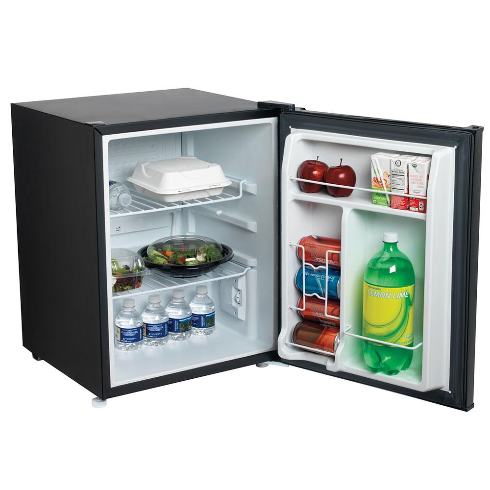 Hamilton Beach HRF200 2.7-cu ft Compact Refrigerator w/ (2) Wire Shelves - Black, 120v