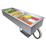"""Hatco CWB-6 84"""" Drop-In Refrigerator w/ (6) Pan Capacity, Cold Wall Cooled, 120v"""