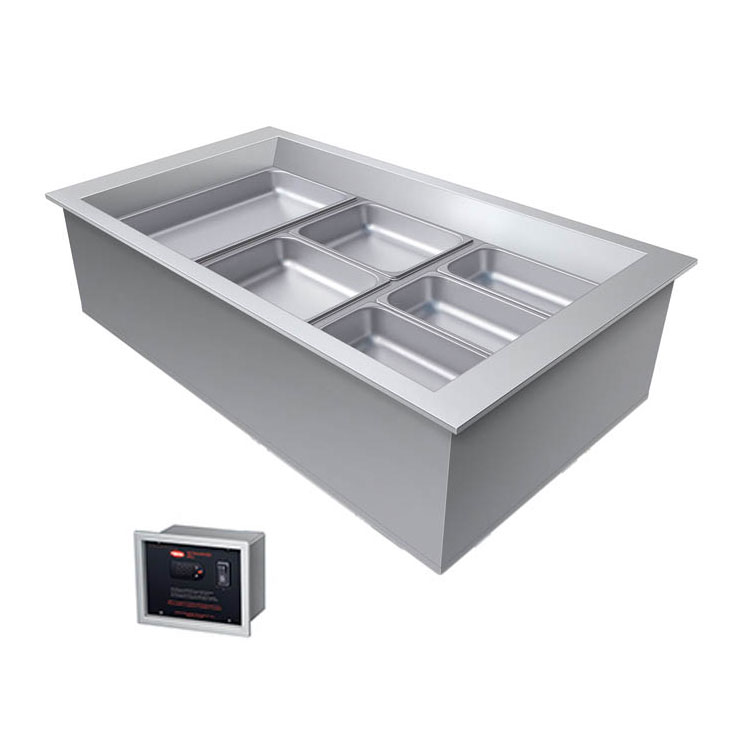 """Hatco CWBX-3 45"""" Drop-In Refrigerator w/ (3) Pan Capacity, Cold Wall Cooled, 120v"""