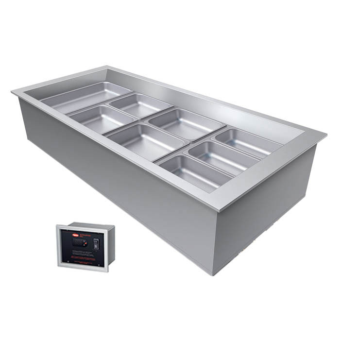 """Hatco CWBX-4 58"""" Drop-In Refrigerator w/ (4) Pan Capacity, Cold Wall Cooled, 120v"""