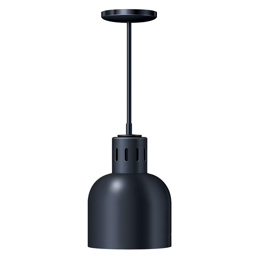 """Hatco DL-700-STN Heat Lamp, 1-Bulb, 8.5 x 6.5"""", Rigid Stem Mount to Track, No Switch"""