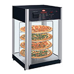 "Hatco FDWD-1-120-QS 19.39"" Countertop Holding & Display Case w/ Rotating Rack - (1) Door, 120v"
