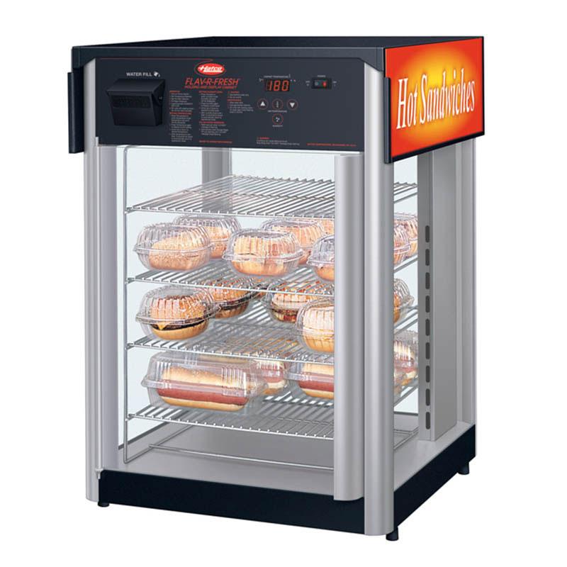 Hatco FDWD-2X Holding Display Cabinet w/ 2-Door & Multi-Purpose Rack