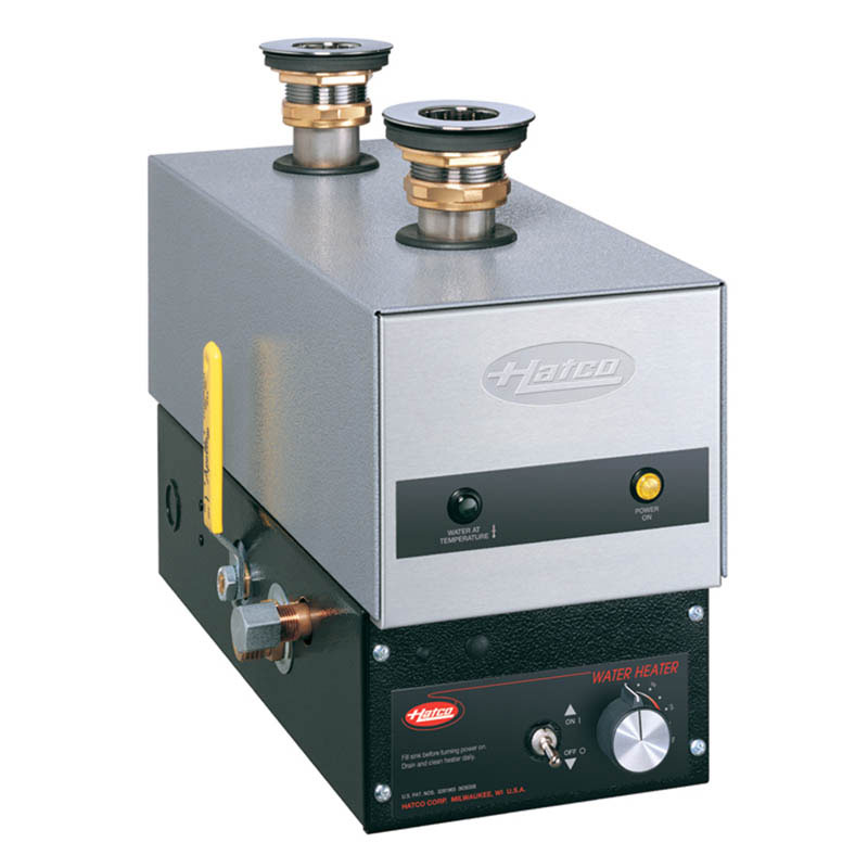 Hatco FR-6 240-1-QS Food Rethermalizer, Bain Marie Heater, 6 KW, 240/1