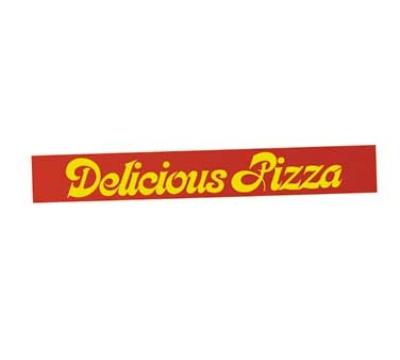 Hatco FSDPIZZA1 DELICIOUS PIZZA Sign