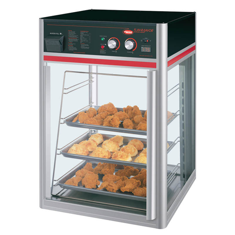Hatco FSDT-1X Holding/Display Cabinet w/ 4-Tier Pan Rack