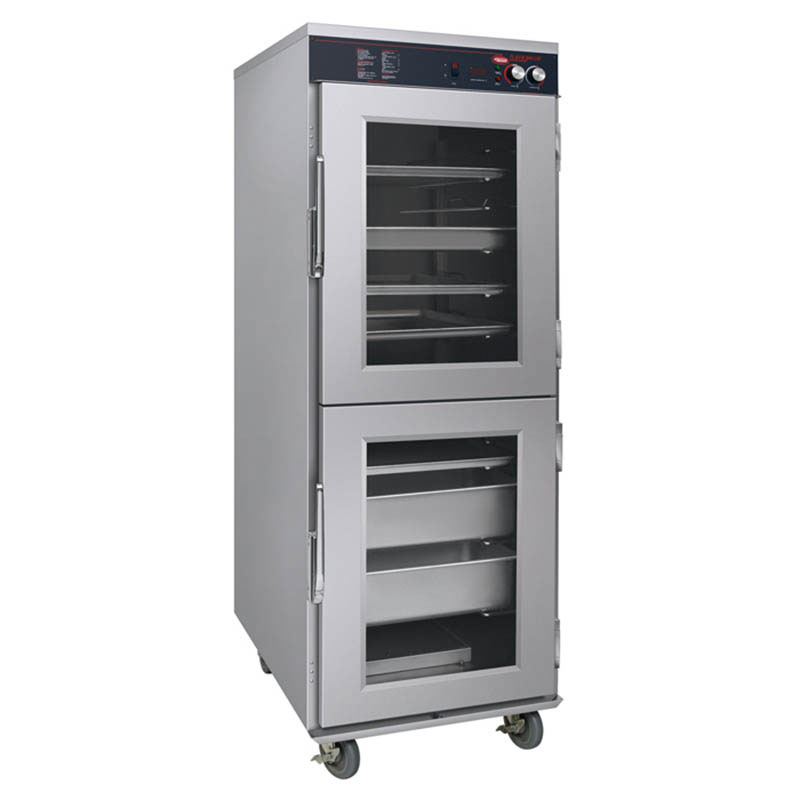 Hatco FSHC-17W1D Humidified Holding Cabinet w/ 17-Tray Slides & Dutch Doors, 120 V