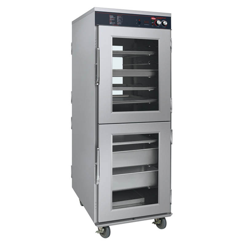 Hatco FSHC-17W2 120 Pass-Thru Humidified Holding Cabinet w/ 17-Tray Slides, 120 V
