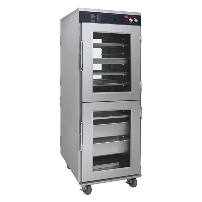 Hatco FSHC-17W2 240 Pass-Thru Humidified Holding Cabinet w/ 17-Tray Slides, 240V