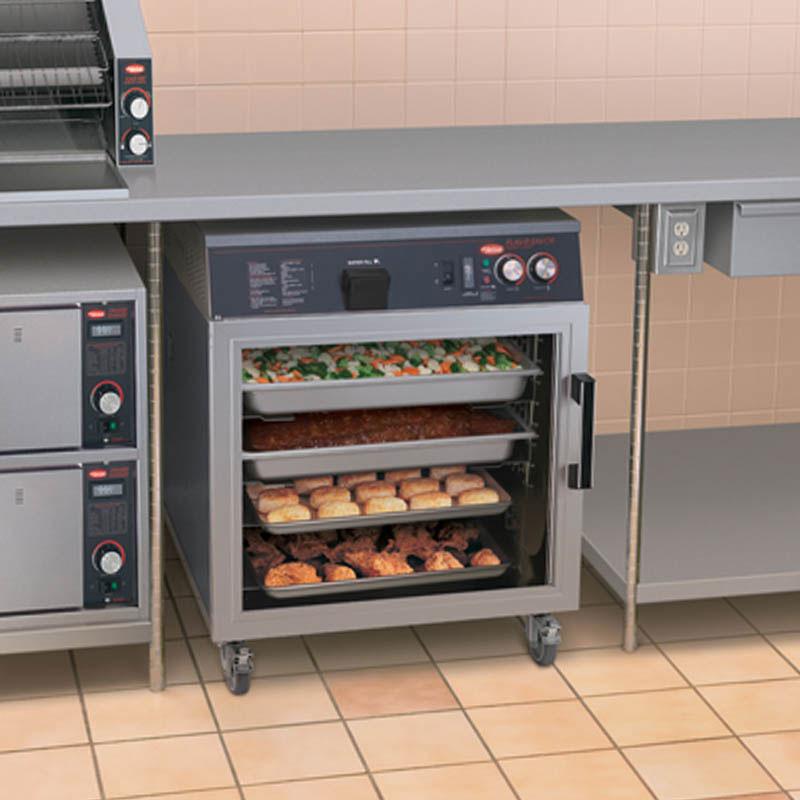 Hatco FSHC-6W1 Mobile Heated Holding Cabinet w/ 6-Pan Slides, Digital