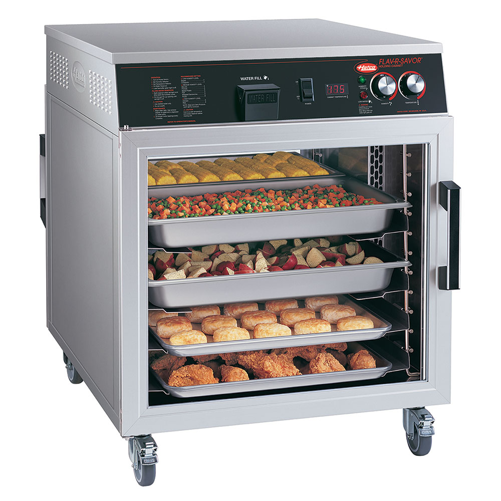Hatco FSHC-6W1 Mobile Heated Holding Cabinet w/ 6-Pan Slides, Digital