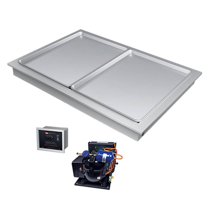"Hatco FTBX-S3 80.81"" Recessed Frost Top w/ Remote Compressor, 120v"