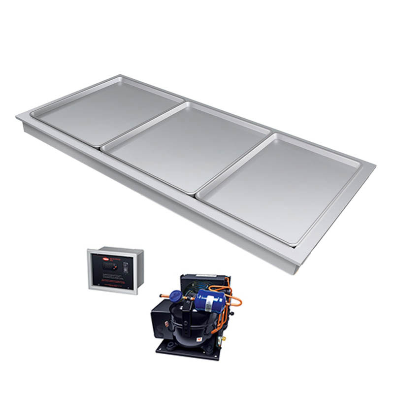 "Hatco FTBR-S3 80.81""Recessed Frost Top w/ Remote Compressor, 120v"