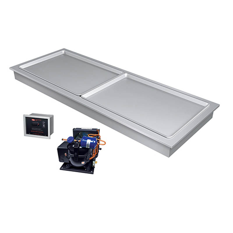 "Hatco FTBR-S2 54.94"" Recessed Frost Top w/ Remote Compressor, 120v"
