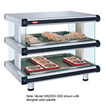 Hatco GR2SDH-36D 240 Horizontal Display Warmer, 2-Shelves w/ 14-Rods, 120/240 V
