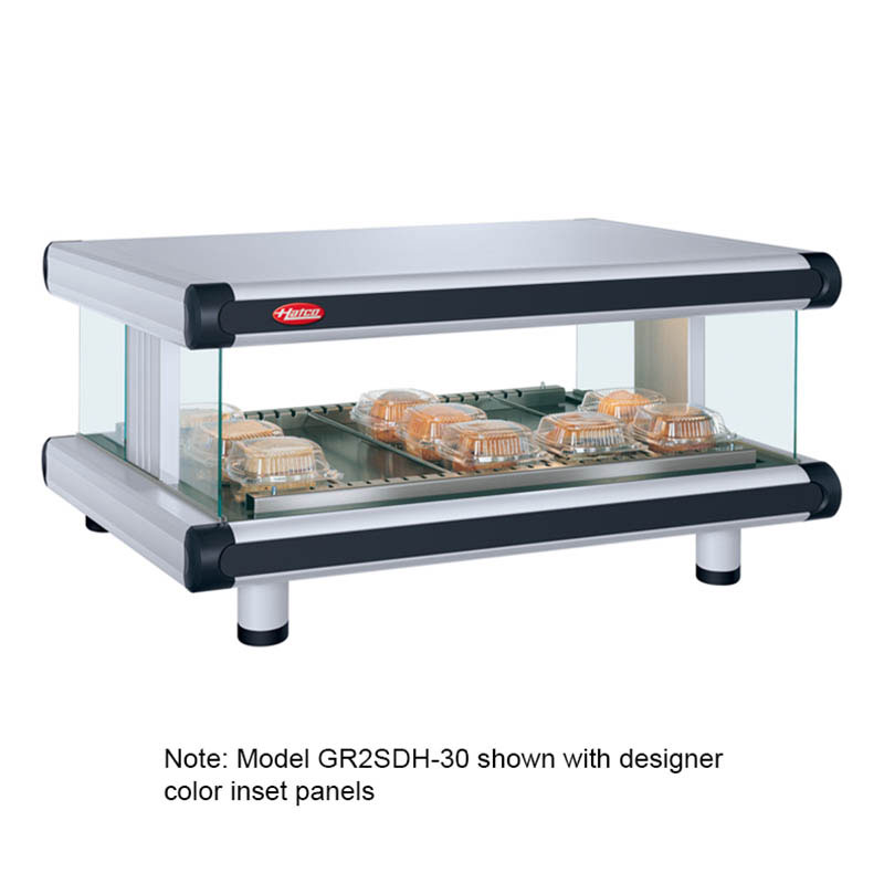 Hatco GR2SDH-42 Designer Horizontal Display Warmer, 1 Shelf w/ 8 Rods, 1240 W