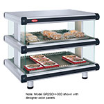 "Hatco GR2SDH-54D 208 60.25"" Self-Service Countertop Heated Display Shelf - (2) Shelves, 208v/1ph"