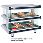 "Hatco GR2SDH-60D 208 66.25"" Self-Service Countertop Heated Display Shelf - (2) Shelves, 208v/1ph"