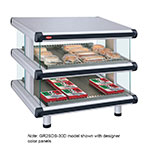 "Hatco GR2SDS-30D 240 36.25"" Self-Service Countertop Heated Display Shelf - (2) Shelves, 240v/1ph"