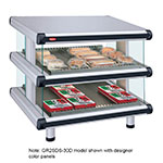 "Hatco GR2SDS-42D 208 48.25"" Self-Service Countertop Heated Display Shelf - (2) Shelves, 208v/1ph"