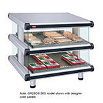 "Hatco GR2SDS-48D 54.25"" Self-Service Countertop Heated Display Shelf - (2) Shelves, 208v/1ph"