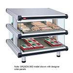 Hatco GR2SDS-48D 240 Slant Display Warmer, 2-Shelves w/ 18-Rods, 120/240 V