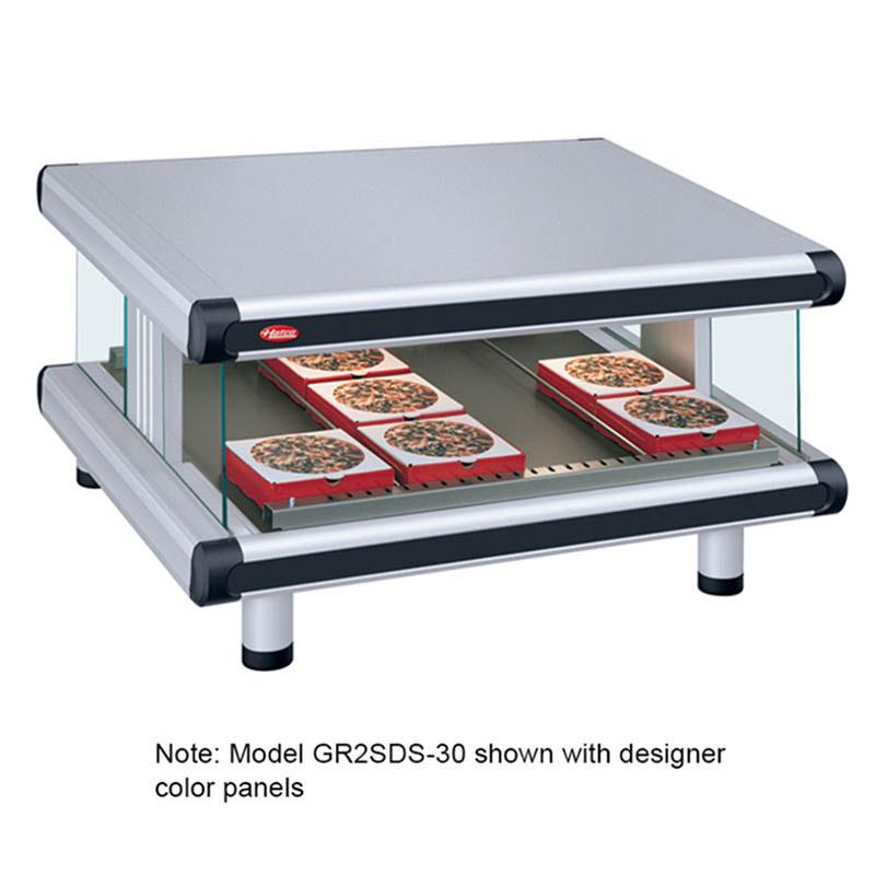 Hatco GR2SDS-54 Designer Slant Display Warmer, 1 Shelf w/ 10 Rods, 1540 W