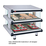 "Hatco GR2SDS-54D 60.25"" Self-Service Countertop Heated Display Shelf - (2) Shelves, 208v/1ph"