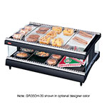 "Hatco GR3SDH-27 27.18"" Self-Service Countertop Heated Display Shelf - (2) Shelves, 120v"