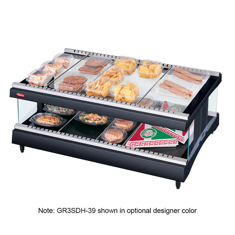 Hatco GR3SDH-27 Glo-Ray Horizontal Display Warmer, 1 Shelf w/ 10 Rods. 1010 W