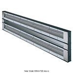 "Hatco GRAH-54D6 54"" Infrared Foodwarmer, Dual w/ 6"" Space & High Watt, 208 V"