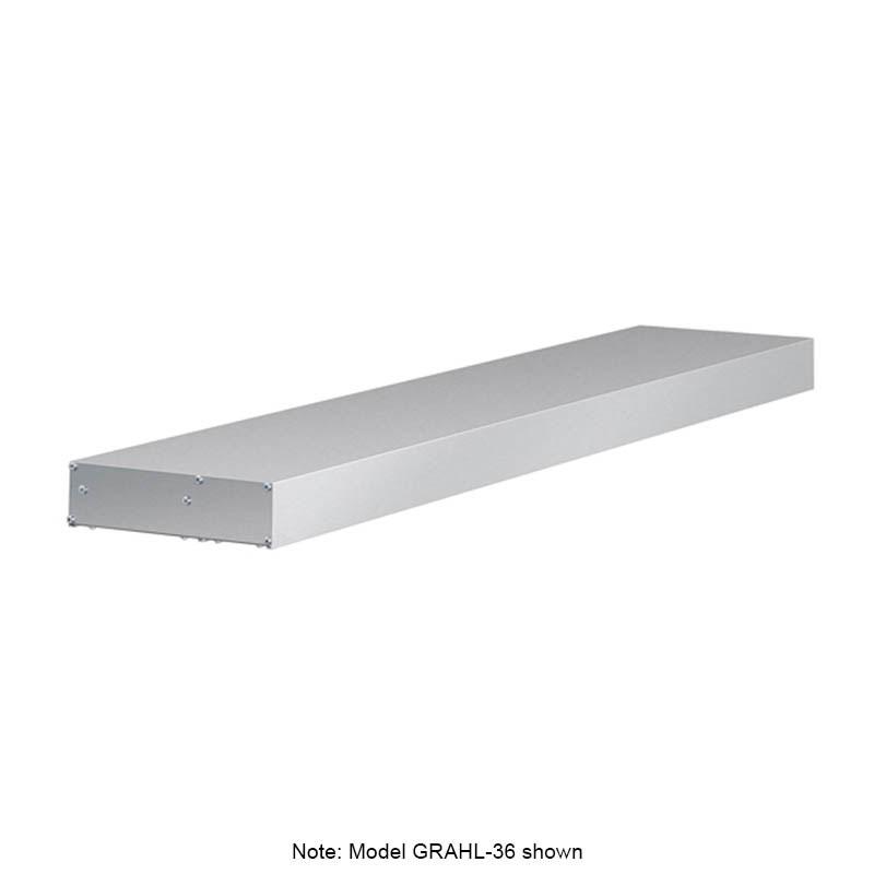 "Hatco GRAHL-108 108"" Infrared Foodwarmer w/ Lights, High Watt, 120/240 V"