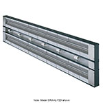 "Hatco GRAHL-72D3 72"" Foodwarmer, Dual w/ 3"" Spacing, High Watt & Lights, 240 V"