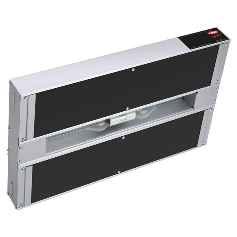 "Hatco GRAIHL-24D6 120 24"" Infrablack Foodwarmer, Dual, 6"" Space, Light, High Watt, 120"