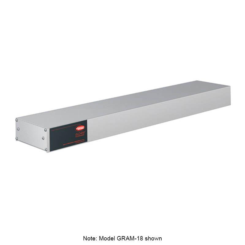 """Hatco GRAM-18 240 18"""" Single Infrared Foodwarmer w/ Max Watt, Aluminum, 240 V"""