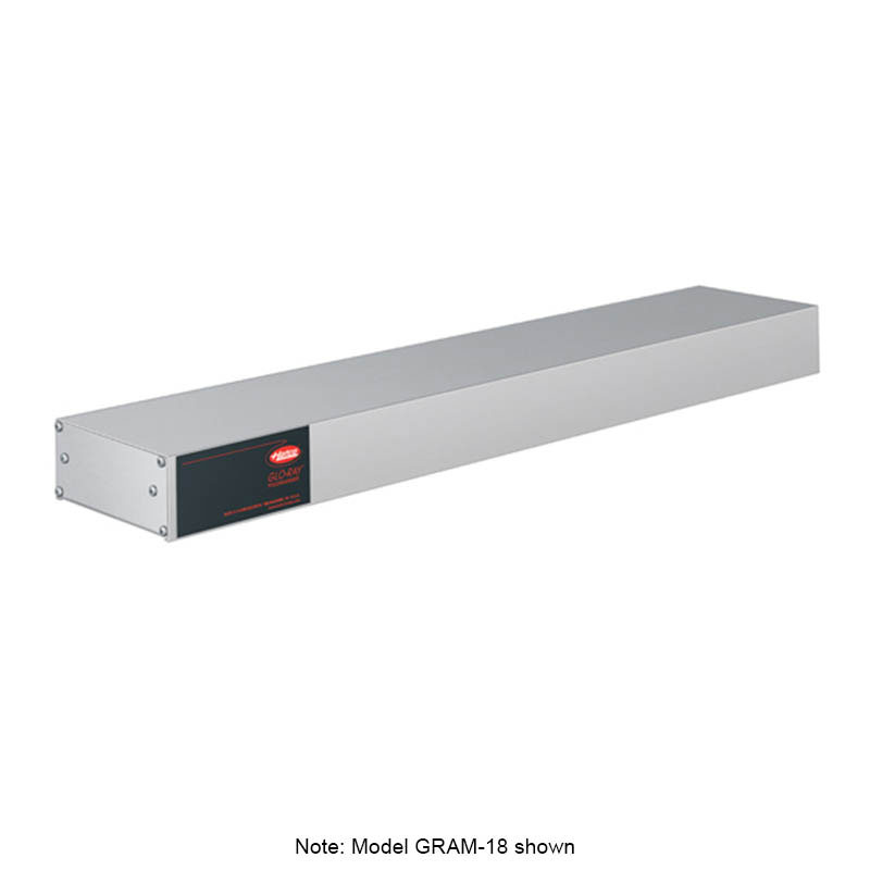 Hatco GRAM-72 Infrared Foodwarmer w/ Tubular Metal Heater Rod, Aluminum, 2075-watts