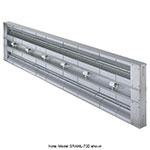 "Hatco GRAML-144D6 144"" Foodwarmer, Dual w/ 6"" Spacing, Max Watt & Lights, 240 V"