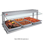 "Hatco GRBW-42 43-1/8"" Buffet Warmer, Sneeze Guards, Light & Heated Base, 120v"