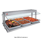 "Hatco GRBW-60 61-1/8"" Buffet Warmer, Sneeze Guards, Light & Heated Base, 240 V"