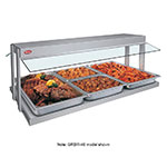 "Hatco GRBW-66 208 67-1/8"" Buffet Warmer, Sneeze Guards, Light & Heated Base, 208 V"