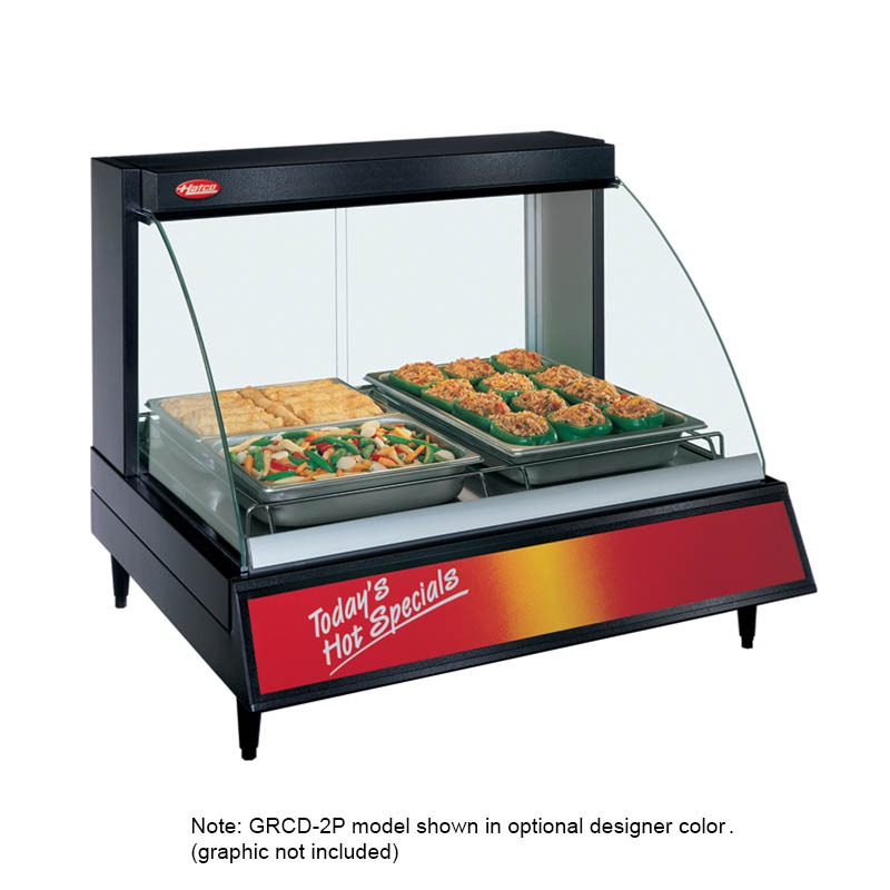 "Hatco GRCD-1P 26"" Heated Display Case w/ 1-Pan Single Shelf, 120 V"