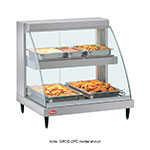 "Hatco GRCD-1PD 26"" Heated Display Case w/ 1-Pan Dual Shelves, 120 V"