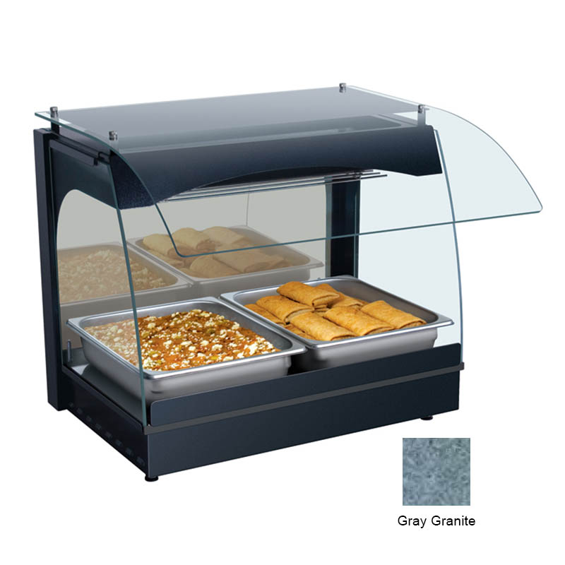 Hatco GRCMW-1 GRAY 22-1/8-in Merchandising Warmer w/ 1-Deck, Gray Granite, 120 V
